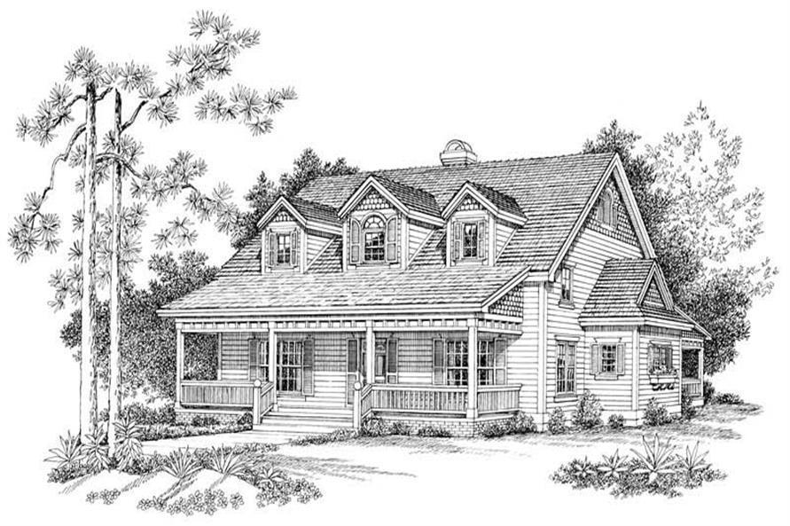 House Plan #137-1109