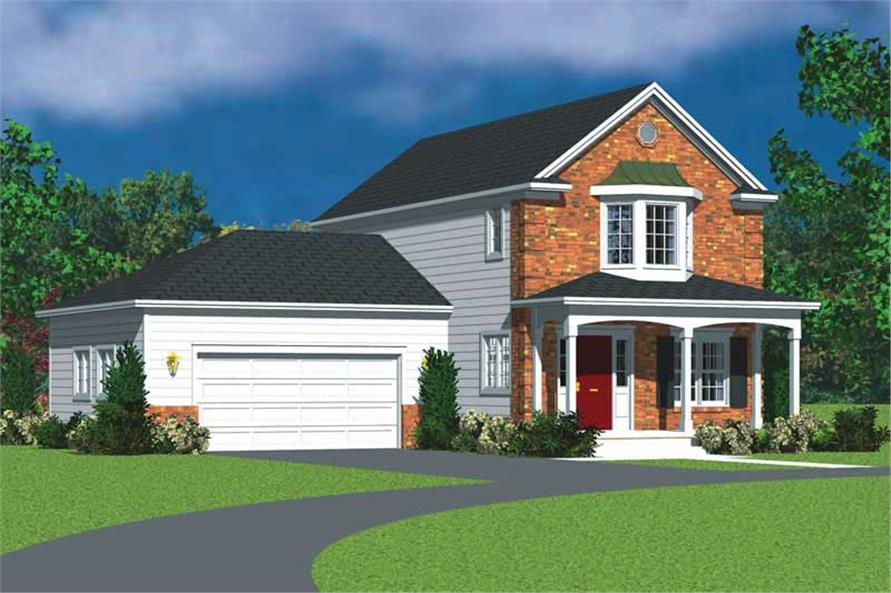 Main image for house plan # 17829
