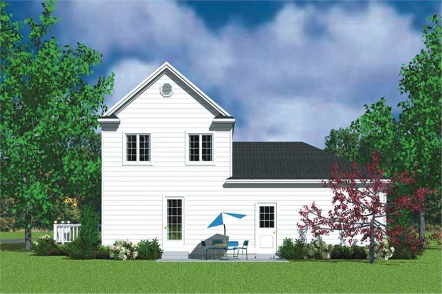 House Plan #137-1111