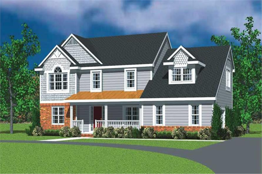 Main image for house plan # 17828