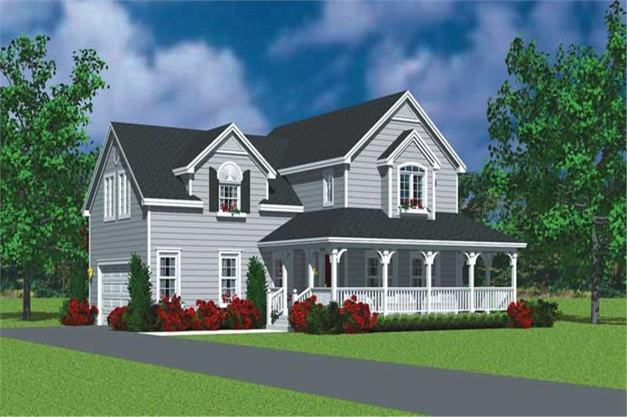 Main image for house plan # 17822