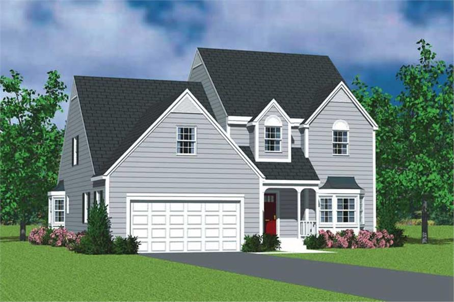 Main image for house plan # 17813