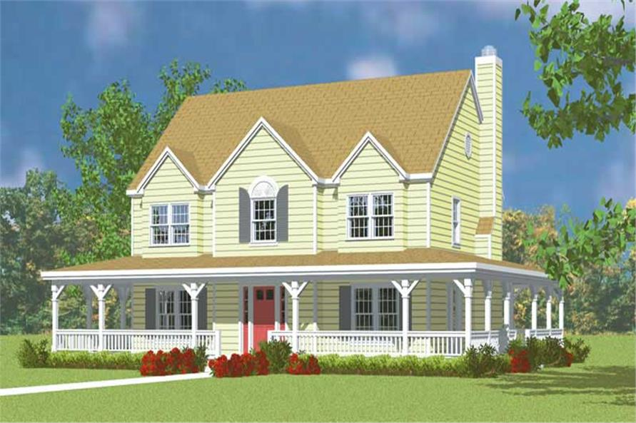 Main image for house plan # 17917