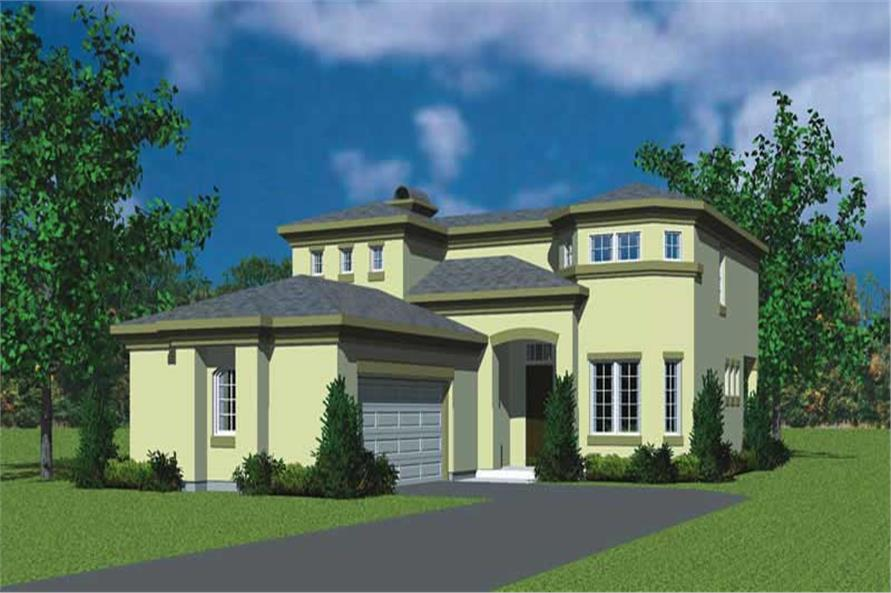 Main image for house plan # 17803