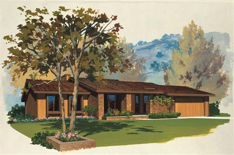 Main image for house plan # 17721