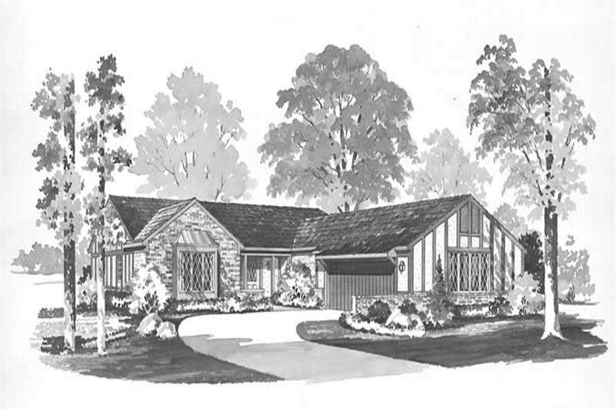 Main image for house plan # 17668