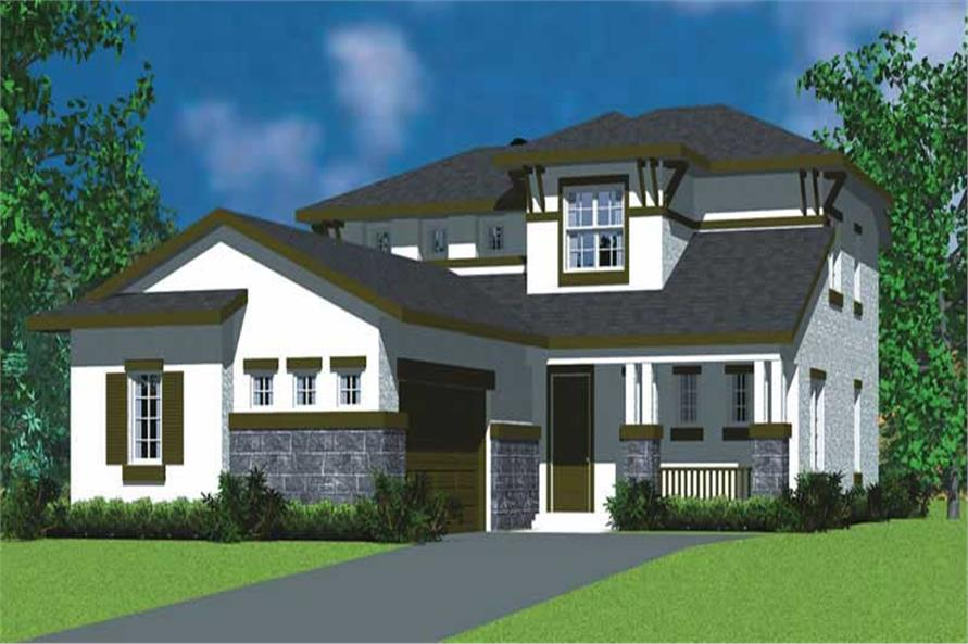 Main image for house plan # 17804