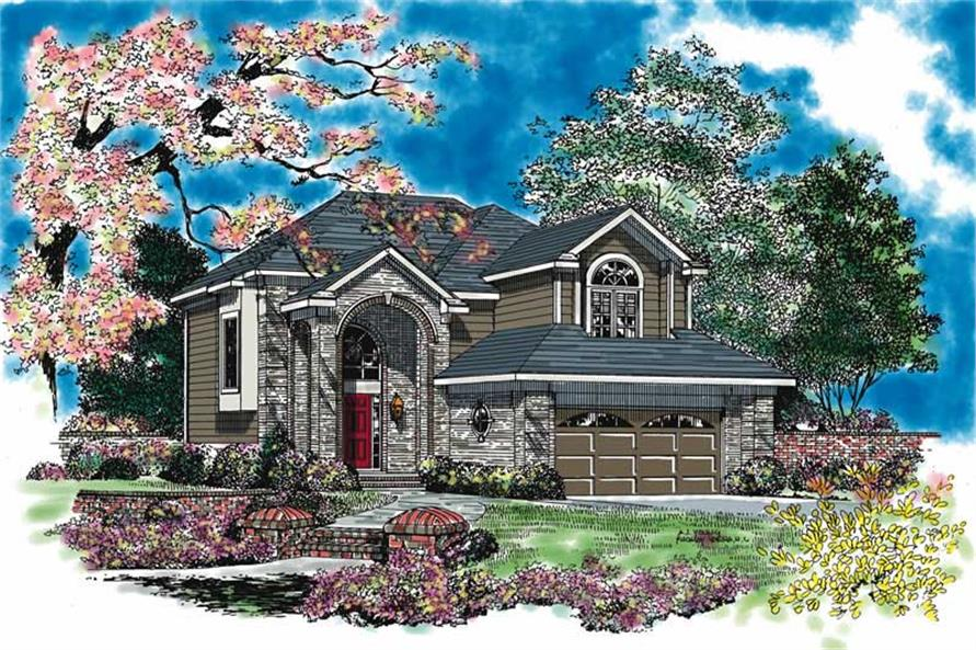 Main image for house plan # 17880
