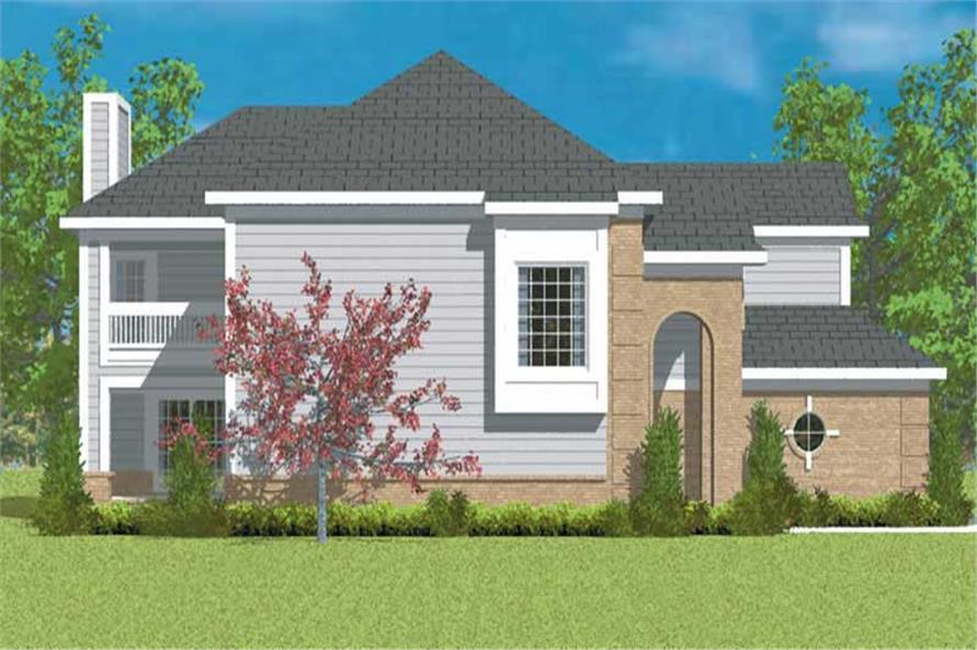 House Plan #137-1132
