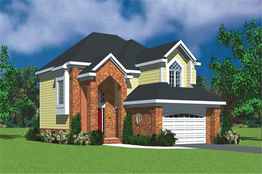 Main image for house plan # 17907