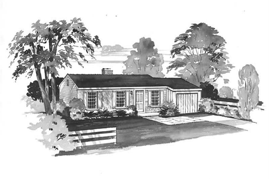 Main image for house plan # 17318