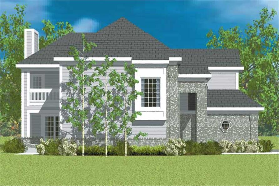 House Plan #137-1136