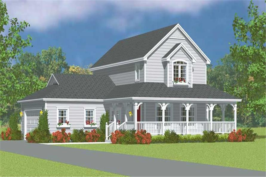 Main image for house plan # 17831