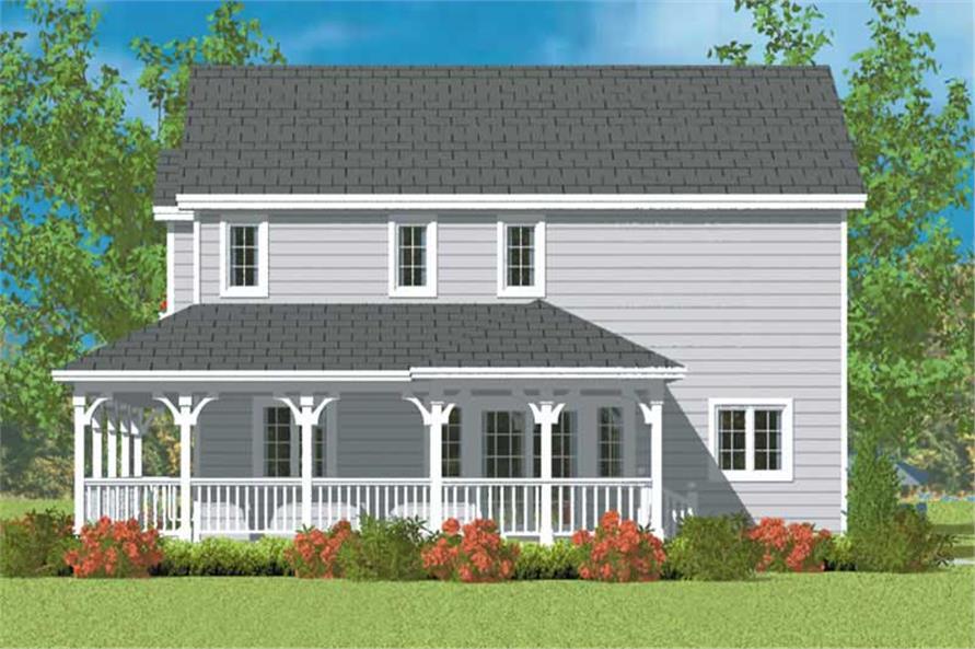 House Plan #137-1137