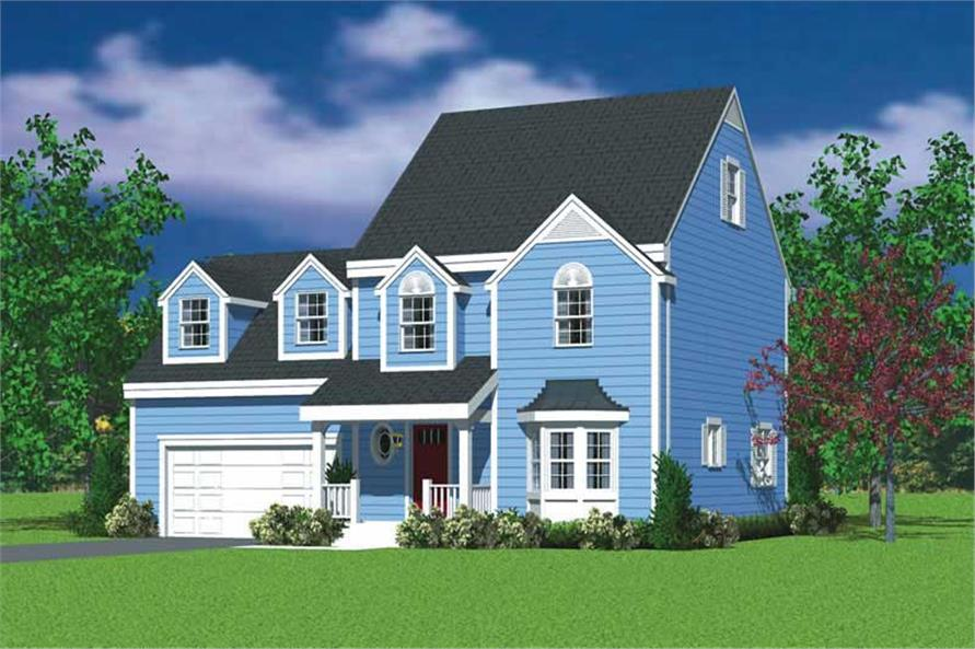 Main image for house plan # 17857