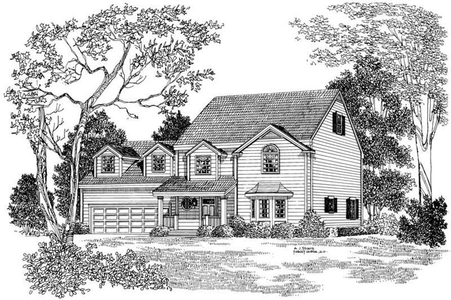 House Plan #137-1143
