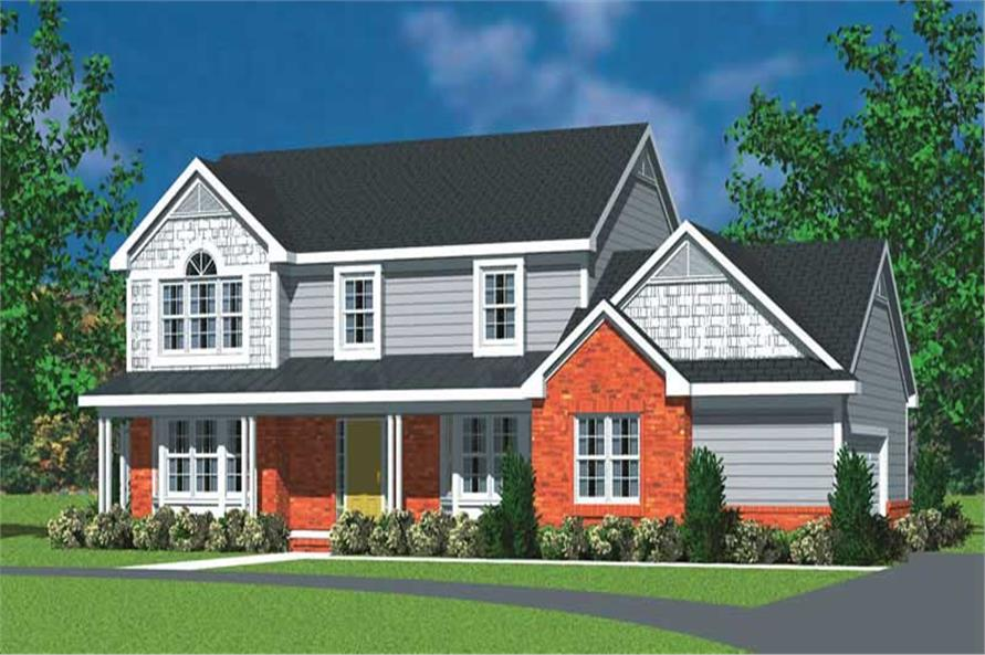 Main image for house plan # 17834