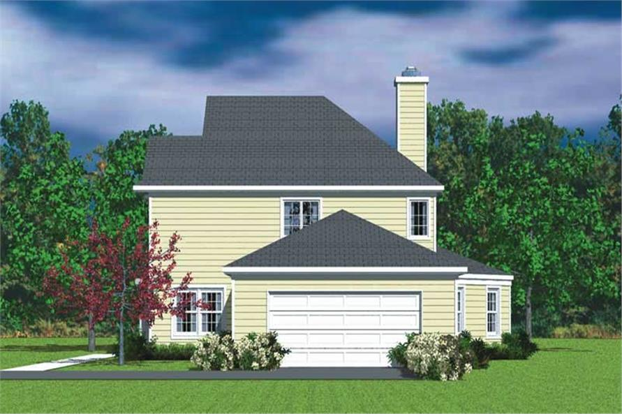 House Plan #137-1145