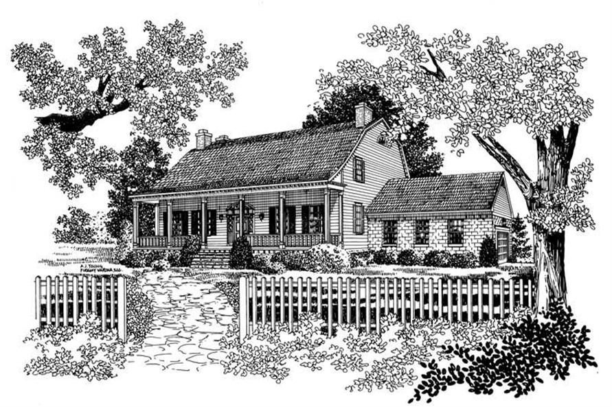 Main image for house plan # 17637