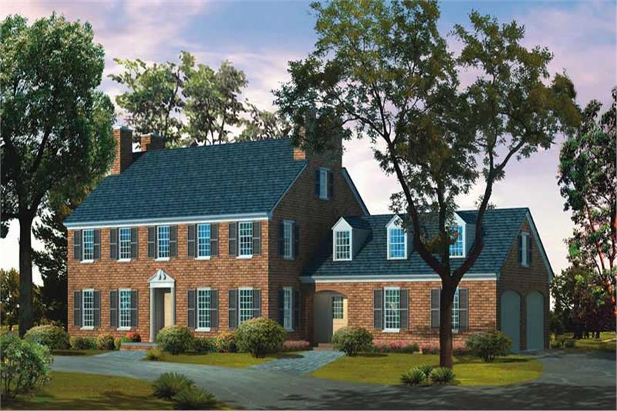 Main image for house plan # 17337