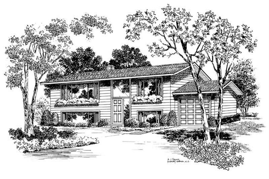Main image for house plan # 17266