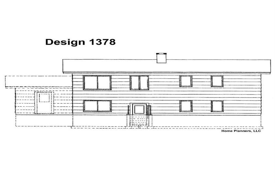 House Plan #137-1155