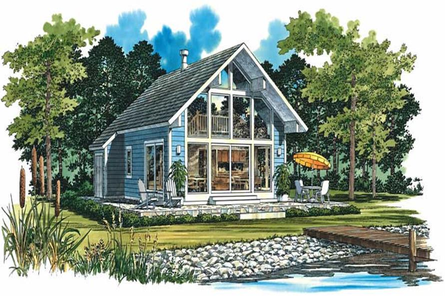 Main image for house plan # 18164