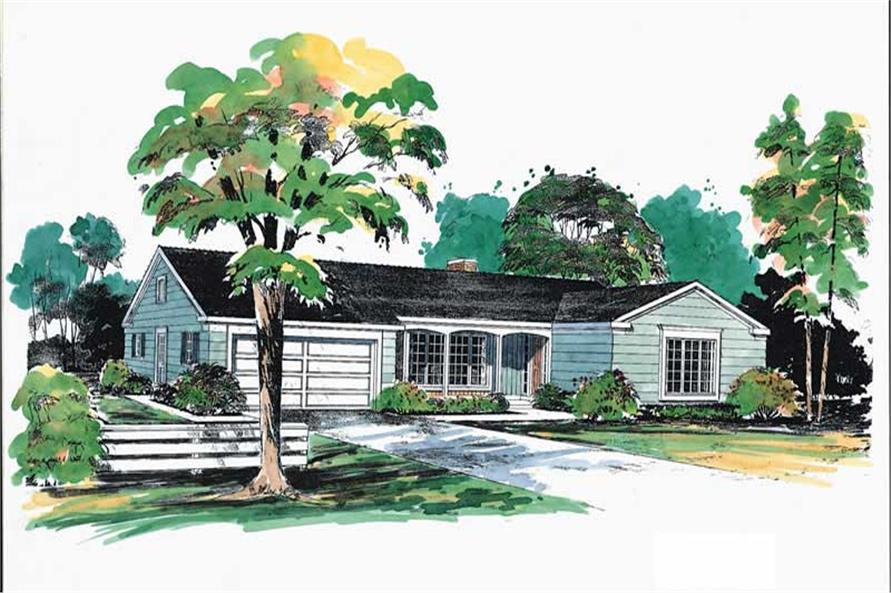 Main image for house plan # 17375