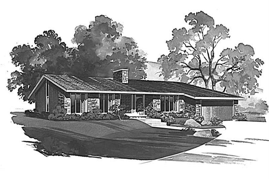 Main image for house plan # 17712