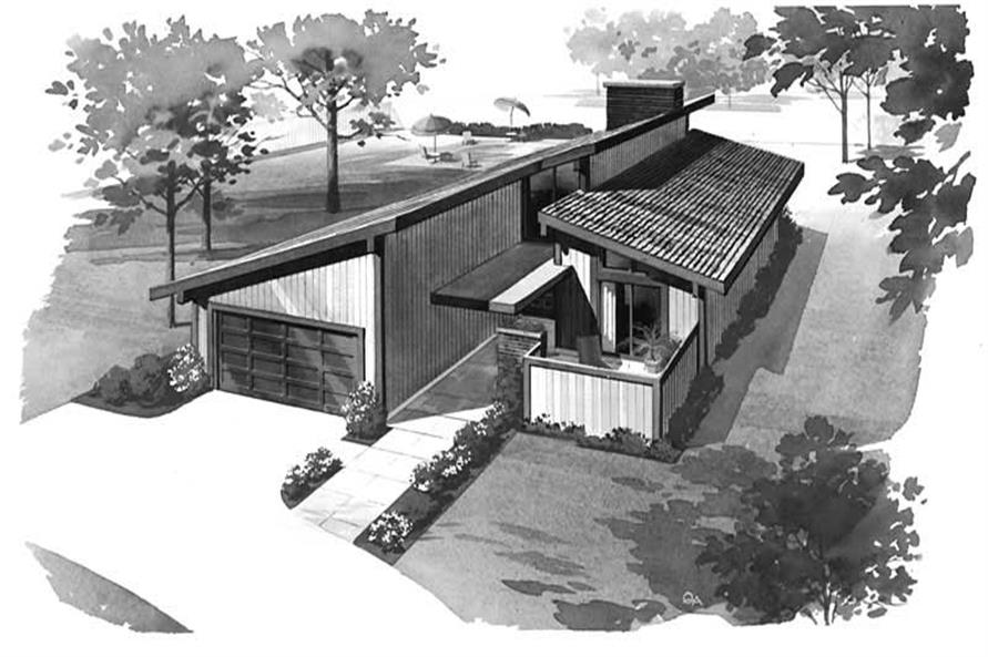 Main image for house plan # 17675