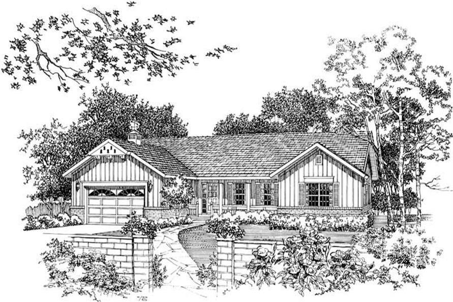 House Plan #137-1176