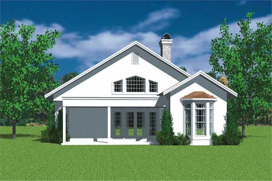 House Plan #137-1179