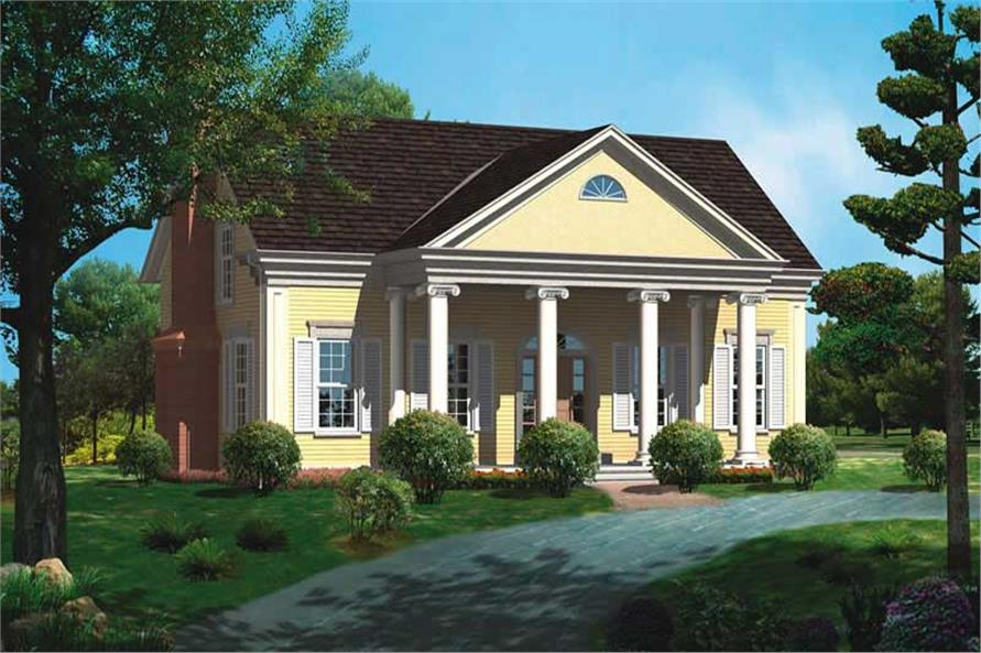 Main image for house plan # 17582