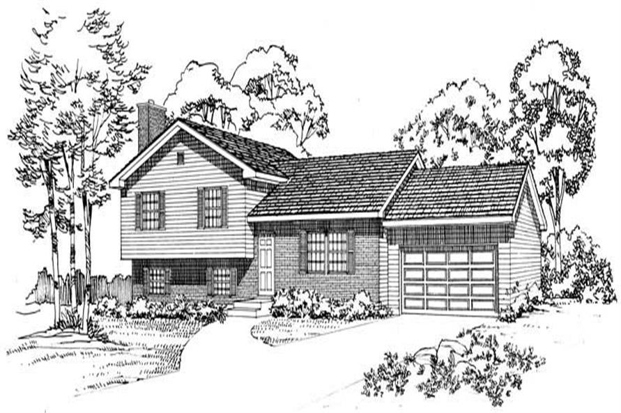 Main image for house plan # 18017