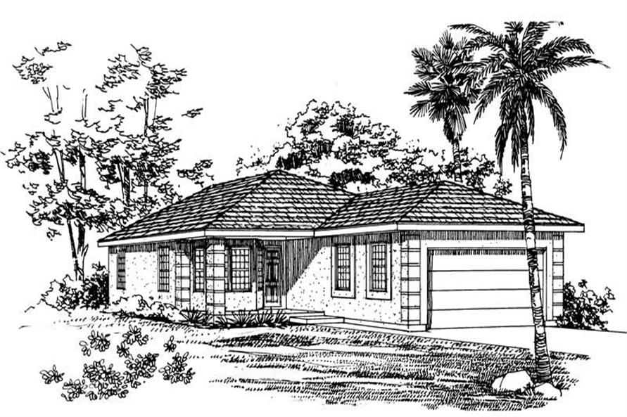 Main image for house plan # 18015