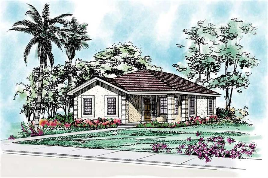 Main image for house plan # 18013