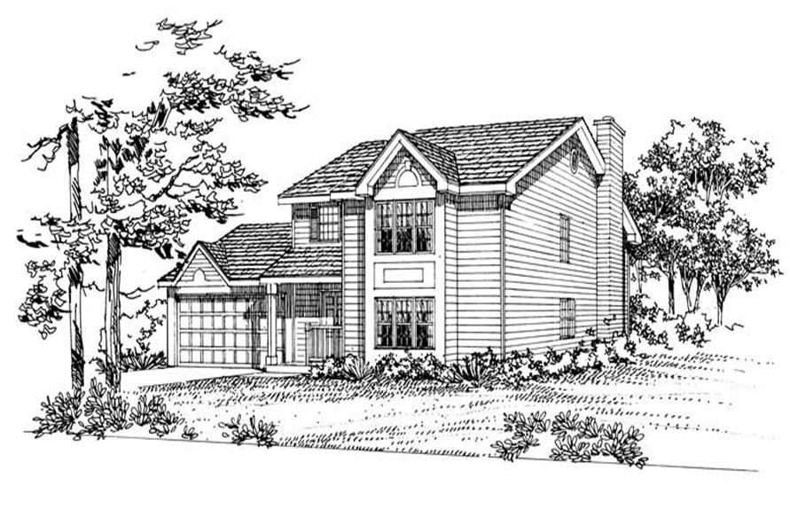 Main image for house plan # 18011