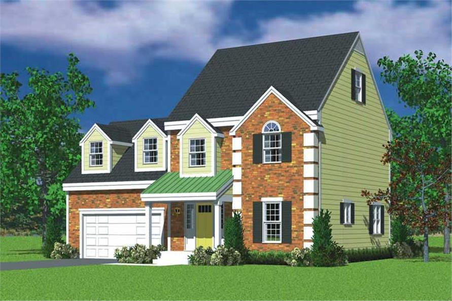 Main image for house plan # 17856