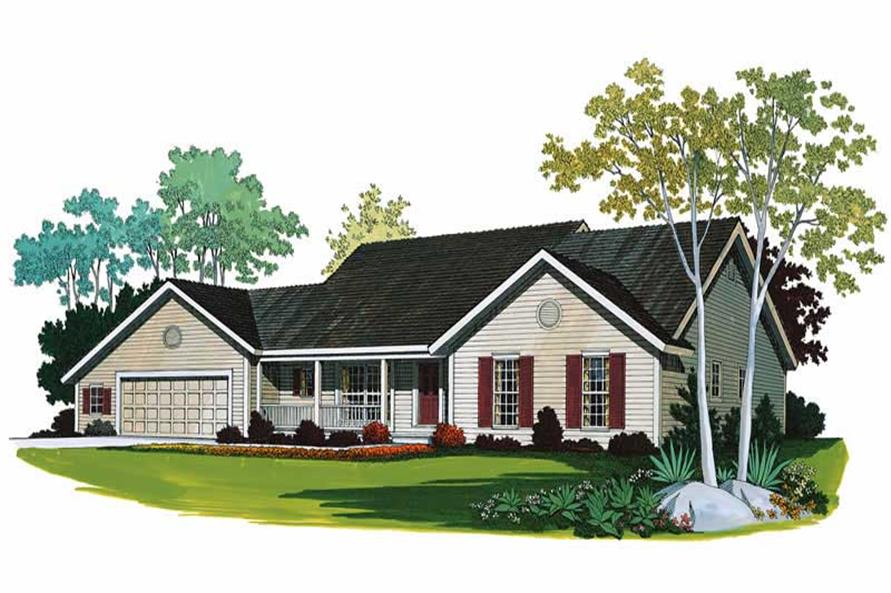 Main image for house plan # 17980