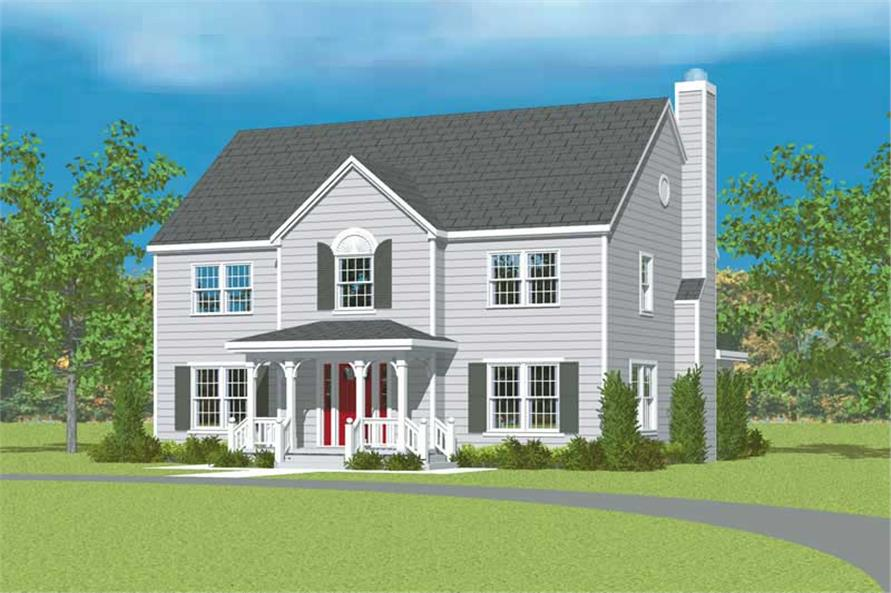 Main image for house plan # 17916