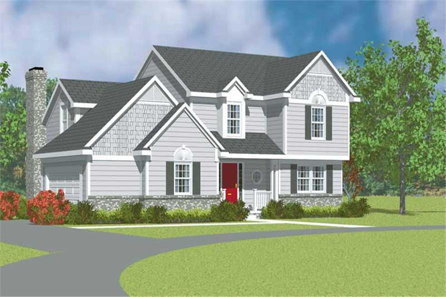 Main image for house plan # 17930