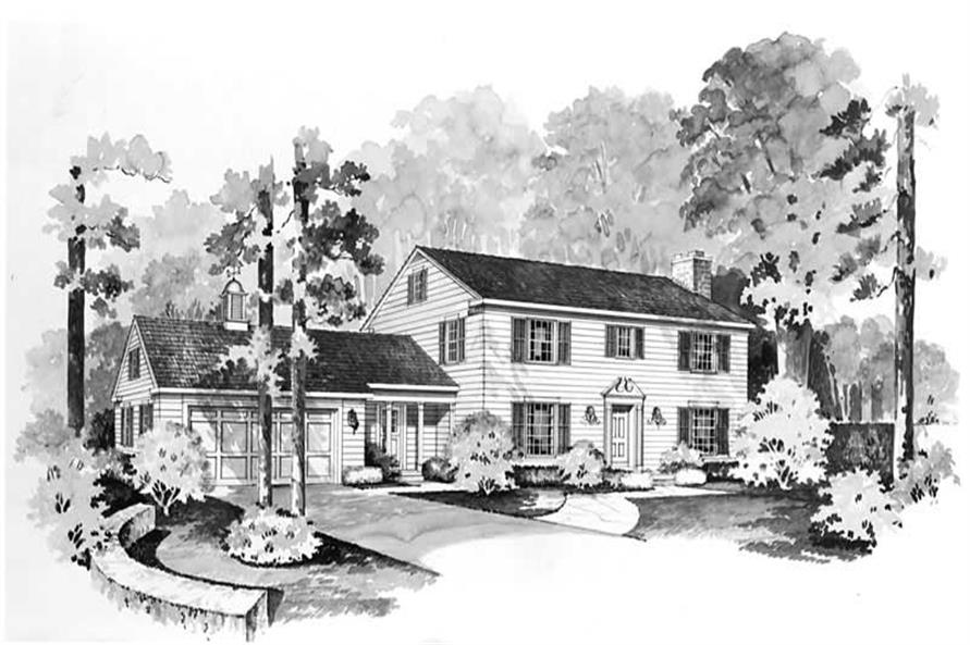 Main image for house plan # 17138