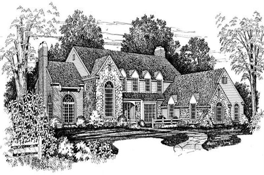 Main image for house plan # 18781