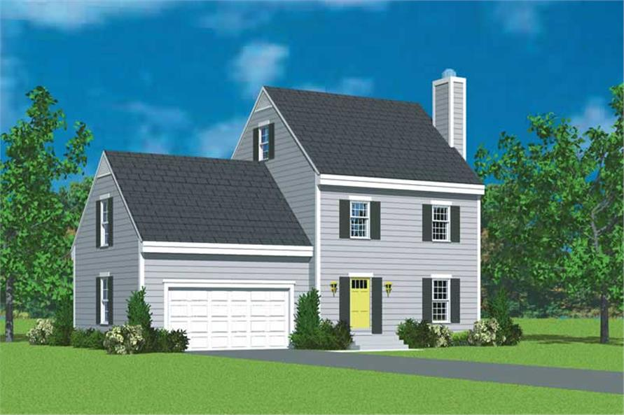 Main image for house plan # 17911