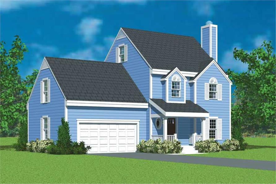 Main image for house plan # 17910