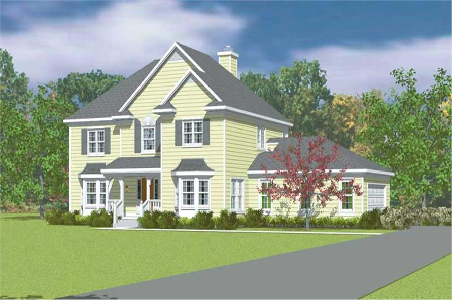 Main image for house plan # 17863