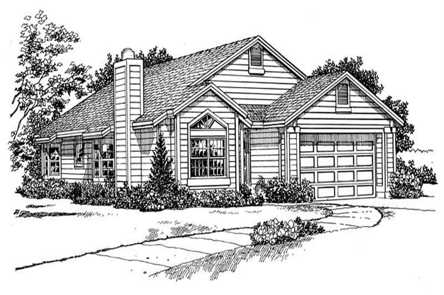 House Plan #137-1231