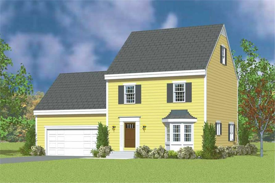Main image for house plan # 17859