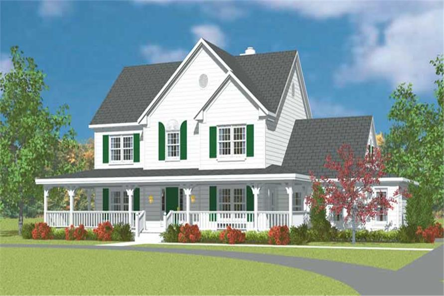 Main image for house plan # 17888