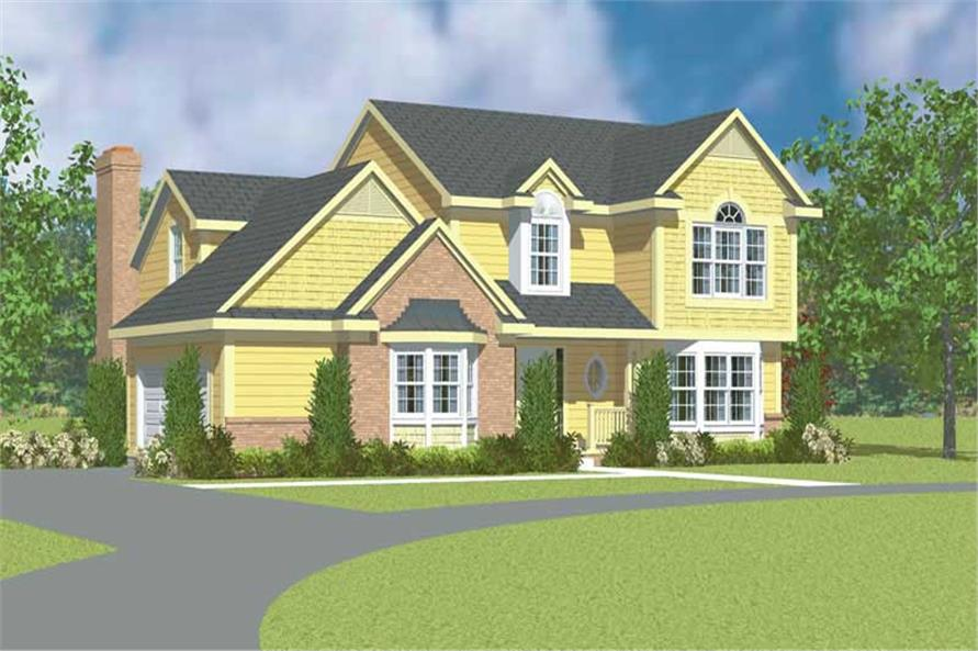 Main image for house plan # 17928